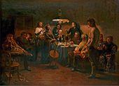 Vladimir MAKOVSKY. Social Gathering. 1875–1897