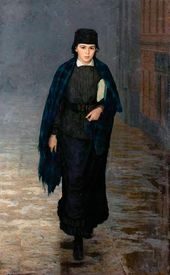Nikolai YAROSHENKO. The Girl-Student. 1883