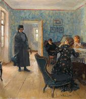 "Ilya REPIN. ""They Did Not Expect Him"". 1883–1898"