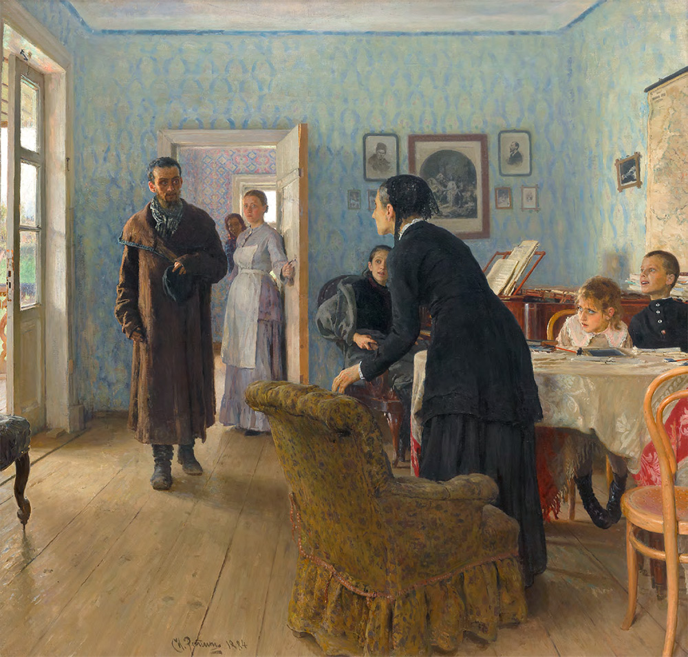 "Ilya REPIN. ""They Did Not Expect Him"". 1884–1888"