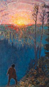 Yury REPIN. Sunrise. 1900-е