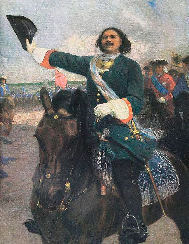 Yury REPIN. The Great Leader (Peter I Before the Battle of Poltava). 1907–1910