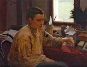 Yury REPIN. Portrait of Nadezhda Repina. 1896