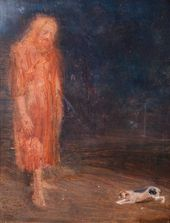 Yury REPIN. Christ and a Dog. First half of the 20th century [1920s-1930s]