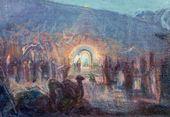 Yury REPIN. Religious Motif. 1930-1940s