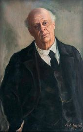 Michael WERBOFF. Portrait of Vladimir Davydov. 1922