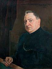 Michael WERBOFF. Portrait of Alexander Sumbatov-Yuzhin. 1922