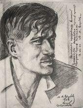 Michael WERBOFF. Portrait of Kornei Chukovsky