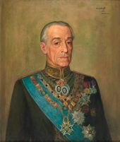 Michael WERBOFF. Portrait of Jacobo Fitz-James Stuart, 17th Duke of Alba. 1951