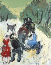 Anatoly SLEPYSHEV. A Scene on the Road. 2003