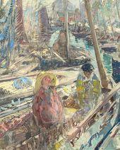 Breton Fishermen. 1900–1902. Detail