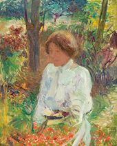 In the Garden. c. 1902-1905