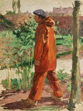 Le Grand Fada in Clogs. 1900