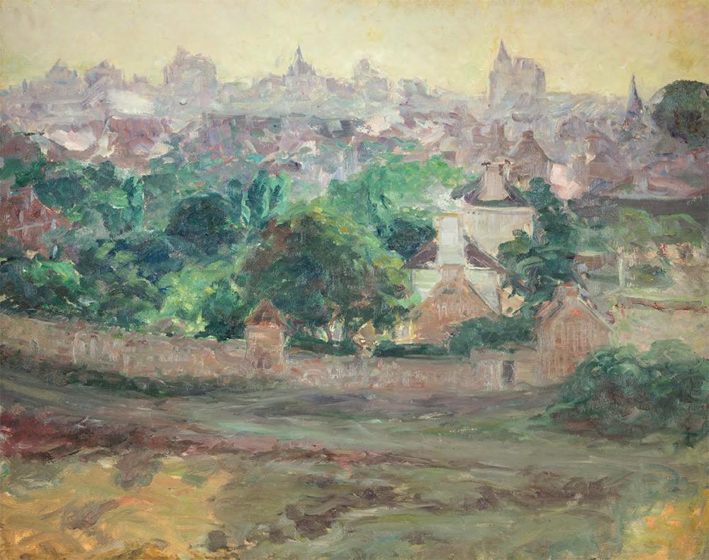 Constantin Kousnetzoff. In the Vicinity of Saint-Lunaire. c. 1906