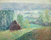 Haystack in Chevreuse. 1909