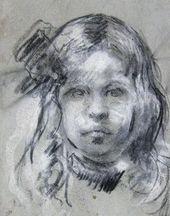 Portrait of Olga, Daughter of Constantin Kousnetzoff. c. 1911