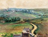 The Road to Ville-Pichard. c. 1916