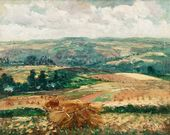 Haystacks in Binic. 1920–1922