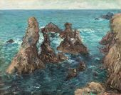 The Needles of Port-Coton. 1923