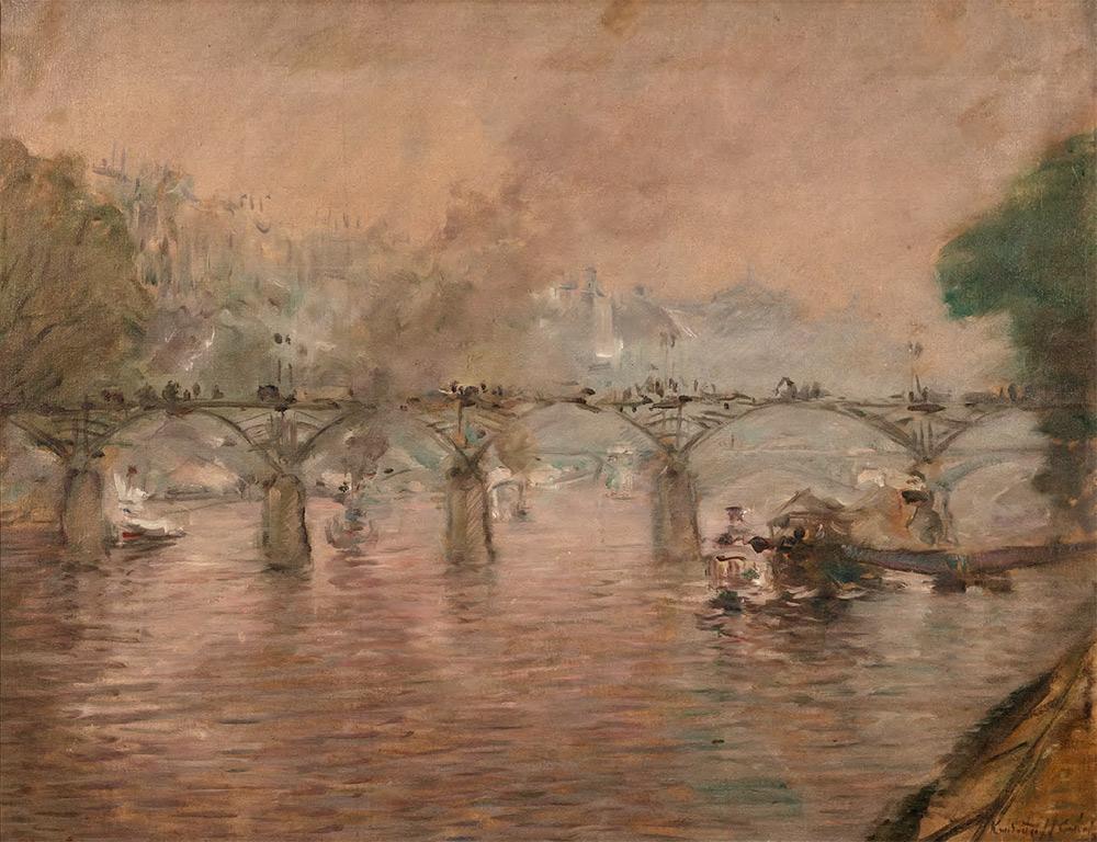 Constantin Kousnetzoff. Pont des Arts. c. 1921-1924