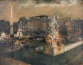 Place de la Concorde. Second half of the 1920s