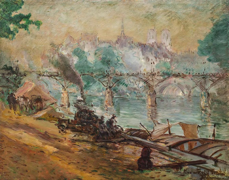 Constantin Kousnetzoff. Quai des Tuileries. Early 1930s