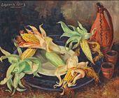 Yevgenia Lang. Sweetcorn. 1960s