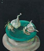 Yevgenia Lang. Garlic Cloves. 1960s