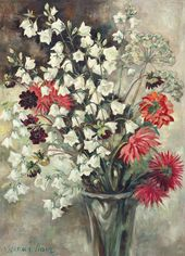 Yevgenia Lang. Countryside Bellflowers. 1960s