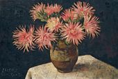 Yevgenia Lang. Small Asters. 1960s