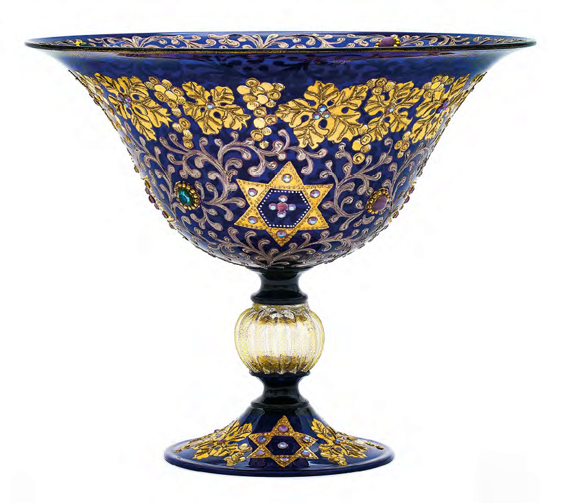 Bowl with Image of Magen David