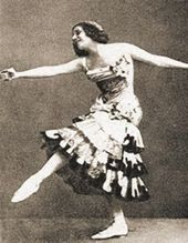 "Anna Pavlova as Kitri from the ballet ""Don Quixote"". 1913"