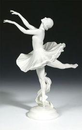 Anna Pavlova's arabesque