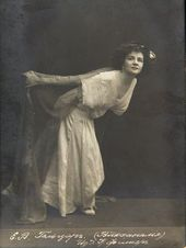 "Yekaterina Geltzer from the ballet ""Bacchanalia"". 1911"