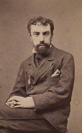 Vasily Polenov. Photograph. Paris, 1874-1875
