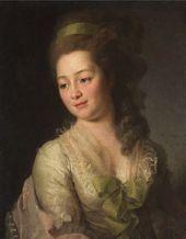 Dmitry LEVITSKY. Portrait of Maria Dyakova. 1778