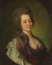 Dmitry LEVITSKY. Portrait of Maria Lvova. 1778
