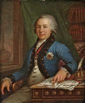 Vladimir BOROVIKOVSKY. Portrait of Gavriil Derzhavin. 1795