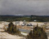 Vasily POLENOV. Sugar Hill in Winter. Early 1870s