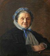 Ivan KRAMSKOI. Portrait of Vera Voyeikova. 1867