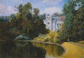 Vasily POLENOV. Pond in a Park. Olshanka. 1877