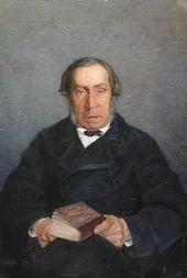 Vasily POLENOV. Portrait of Dmitry Polenov. 1877