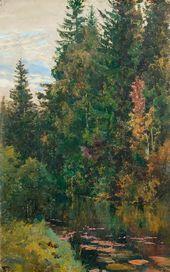 Vasily POLENOV. The Vorya River. 1880