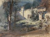 Vasily POLENOV. Garden. Act III. 1882