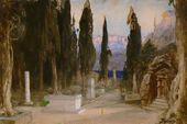 Vasily POLENOV. Cemetery. Act I. 1897