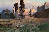 Vasily POLENOV. Constantinople (Istanbul). Eski Saray Gardens. 1882