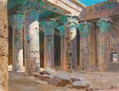 Vasily POLENOV. The Temple of Isis on the Island of Philae. 1882