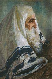 Vasily POLENOV. Rabbi Hillel. 1895