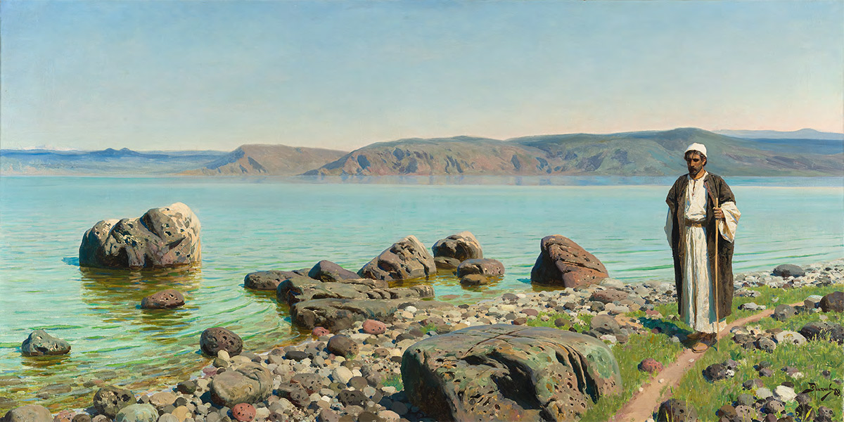 Vasily POLENOV. On the Sea of Tiberias (Lake of Gennesaret). 1888