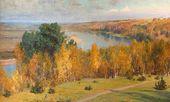 Vasily POLENOV. Golden Autumn. 1893